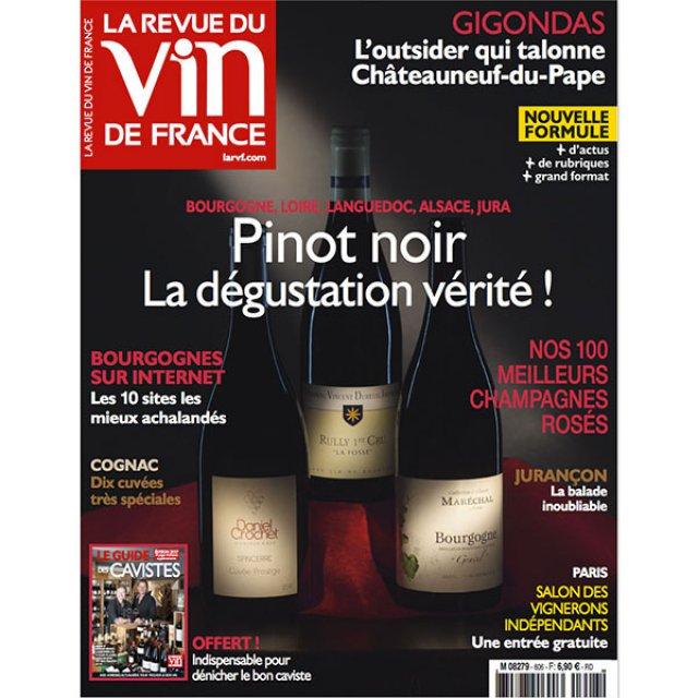 Revue des vins de France novembre 2016