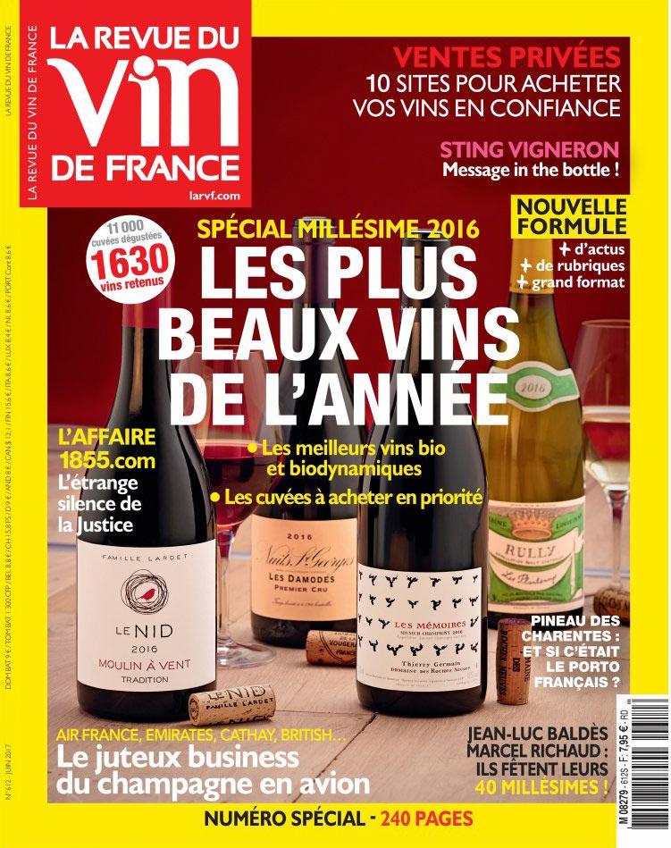 revue du vin de France juin 2017