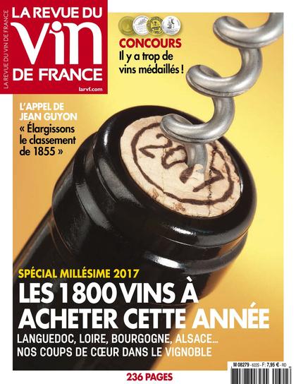 La Revue du vin de France de juin 2017